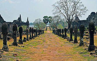 "Wat Phu, de ""mini Angkor Wat"" in Champasak"