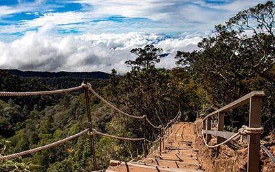 Beklimming van de Mount Kinabalu
