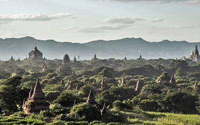 De vele prachtige tempels van Bagan