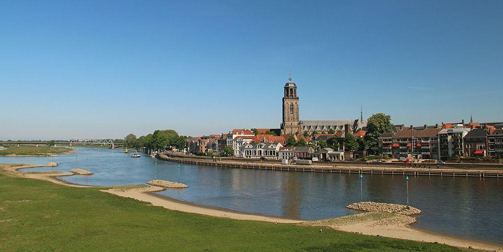Hanzestad Deventer in Overijssel