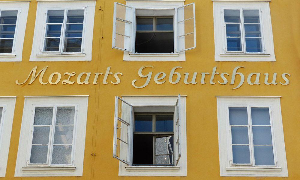Geboortehuis Mozart in Salzburg