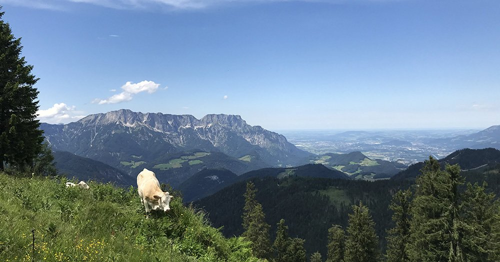 Obersalzberg in Zuid-Beieren