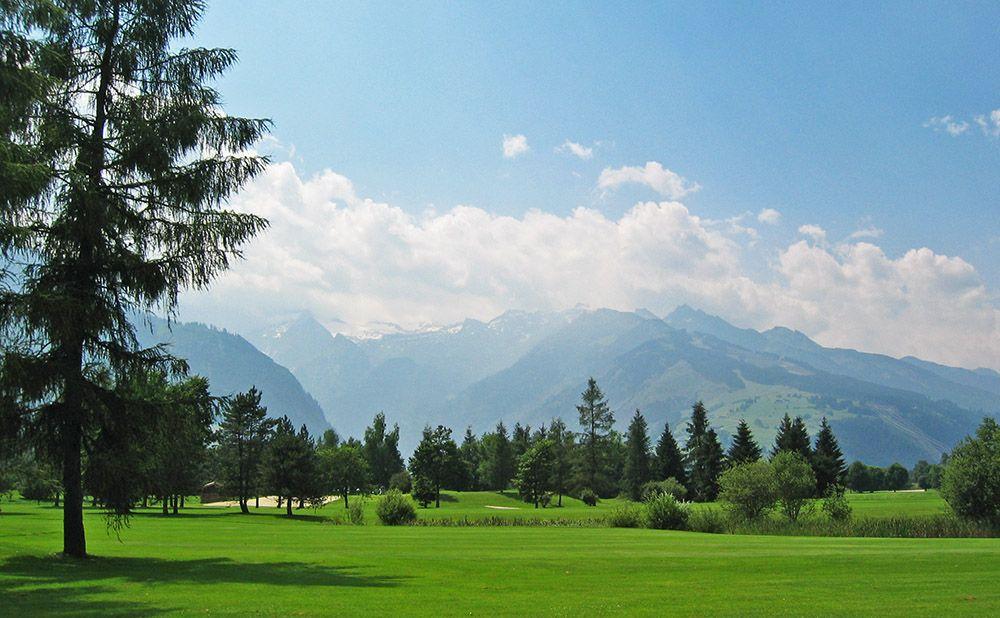 Golfen in Salzburgerland, Oostenrijk