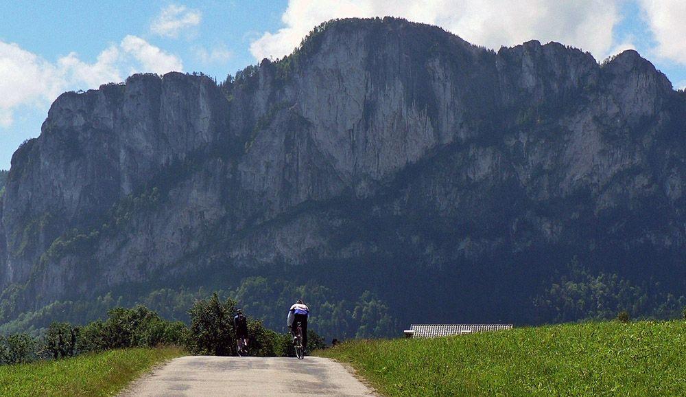 Wielrenner in Salzburgerland