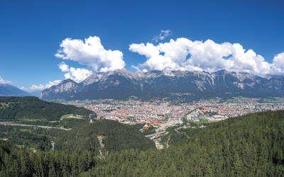 Innsbruck: stad met de gezonde berglucht altijd nabij