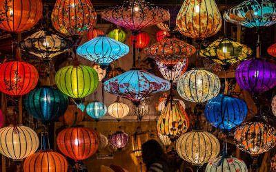 Het centrum van Hoi An: lampionnen en sfeer