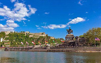 Koblenz, de perfecte tussenstop op weg naar de Alpen