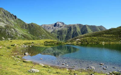 Drei Seen Tour in Kühtai, prachtige wandeling langs bergmeren