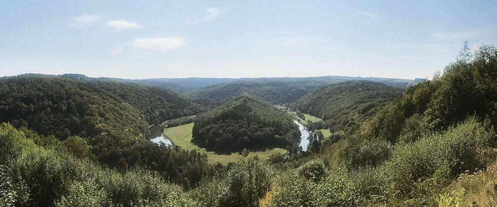 Tombeau du Géant in de Belgische Ardennen