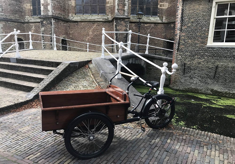 Bakfiets in Delft