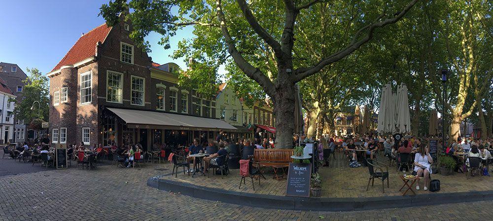 Beestenmarkt in Delft