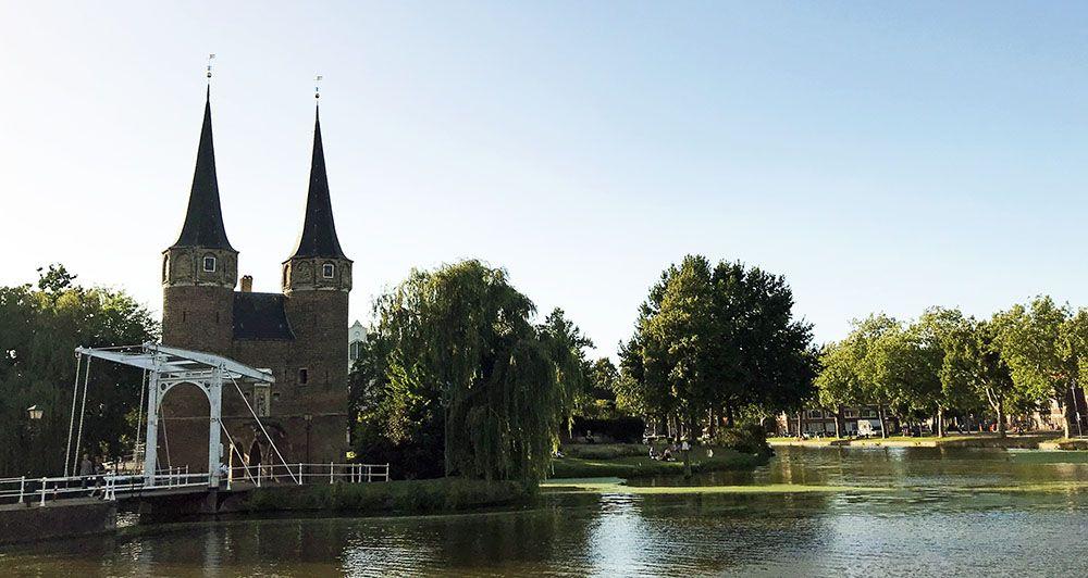 Oostpoort van Delft