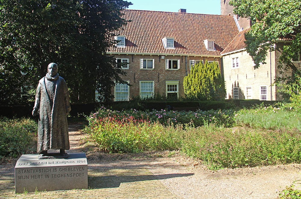 Standbeeld Willem van Oranje in Delft