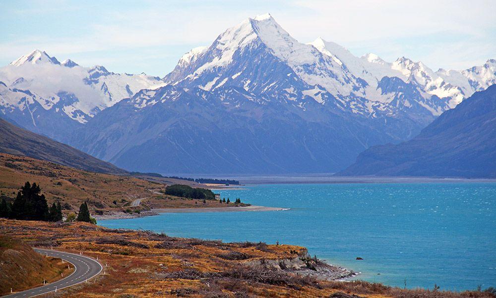 Mount Cook, Zuidereiland, Nieuw-Zeeland