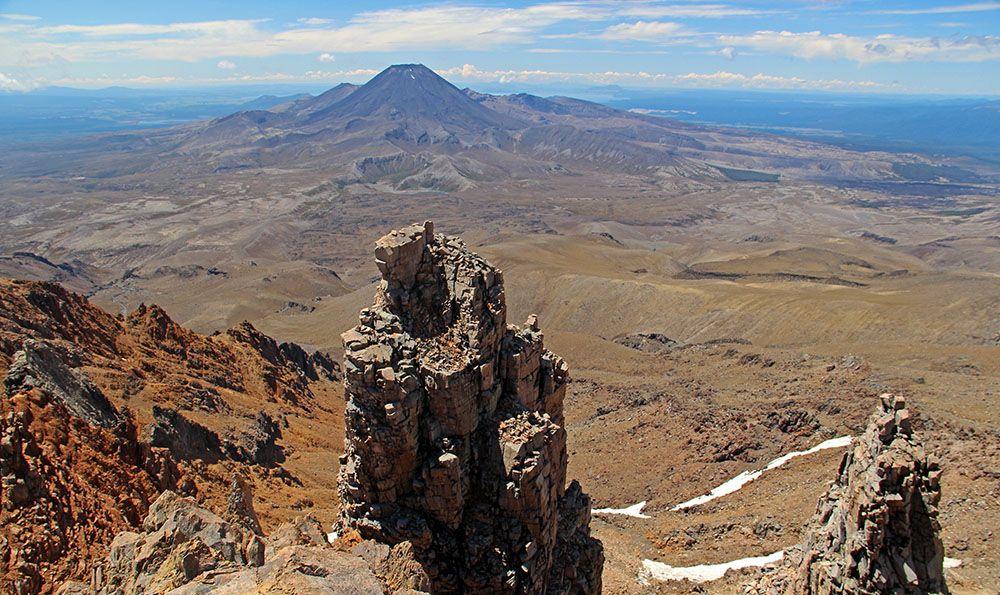 Mount Doom in Tongariro National Park
