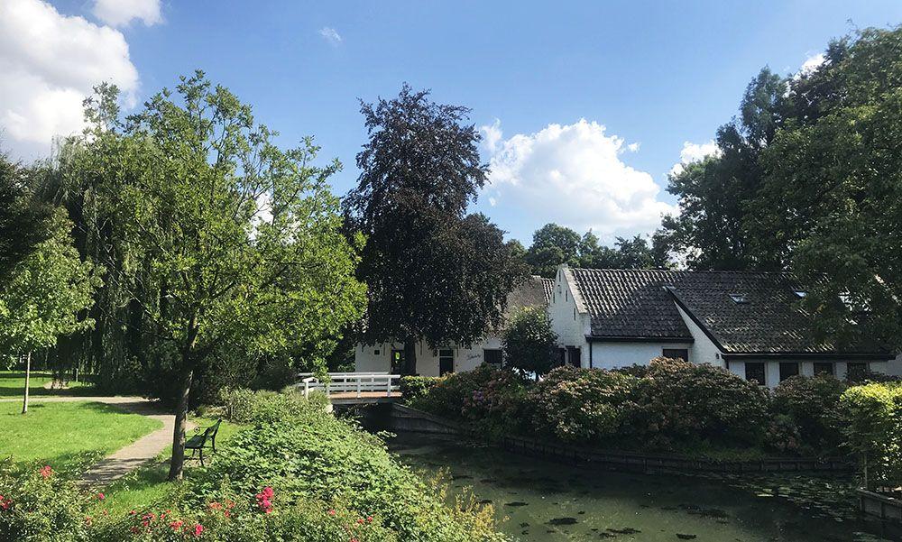 plantsoen in Vleuten