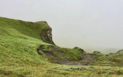 Het smokkelaarspad bij Gargellen in Vorarlberg