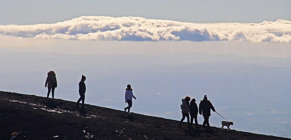 Wandelen bij de Etna