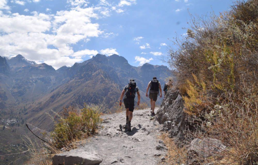 Salkantay trail in Peru