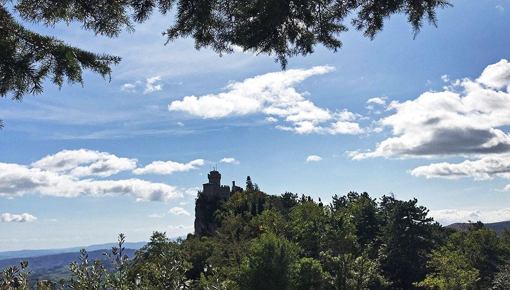 Cesta, de tweede toren van San Marino