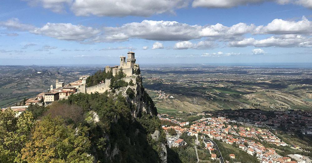 Guaita - de eerste toren van San Marino