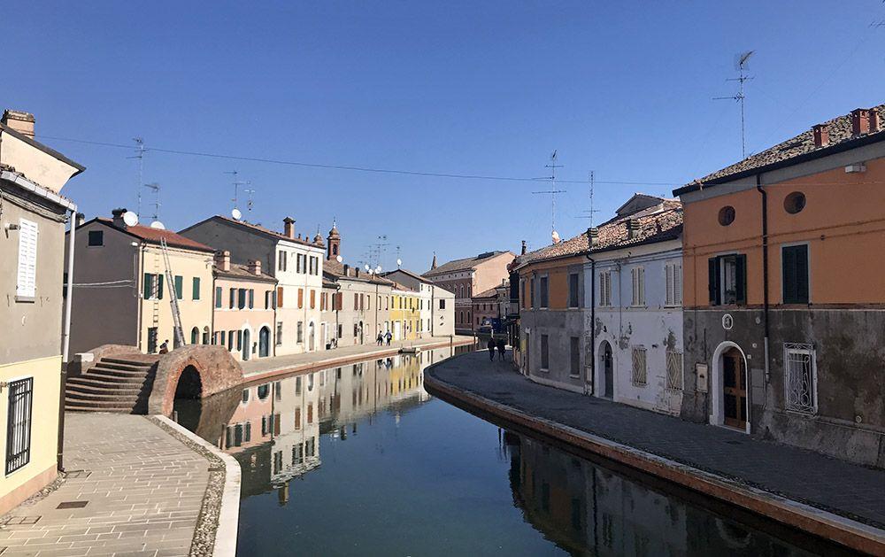 Comacchio, Italië