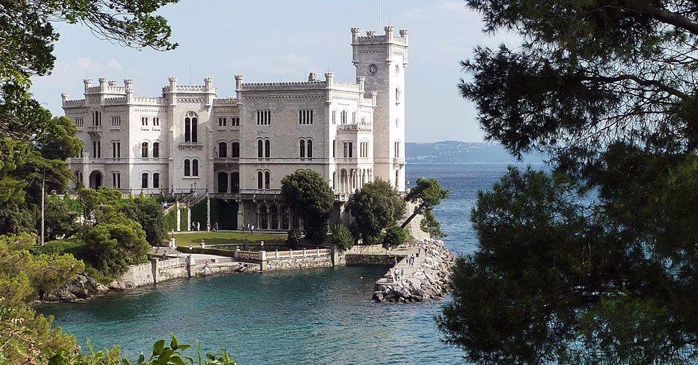 kasteel Miramare, Triëst