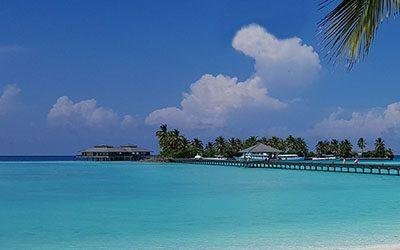 De bounty-eilanden van de Malediven