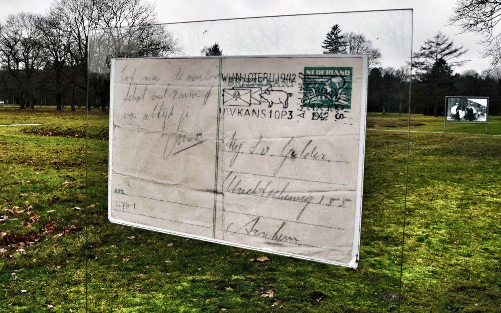 Ansichtkaart, Kamp Westerbork in Drenthe