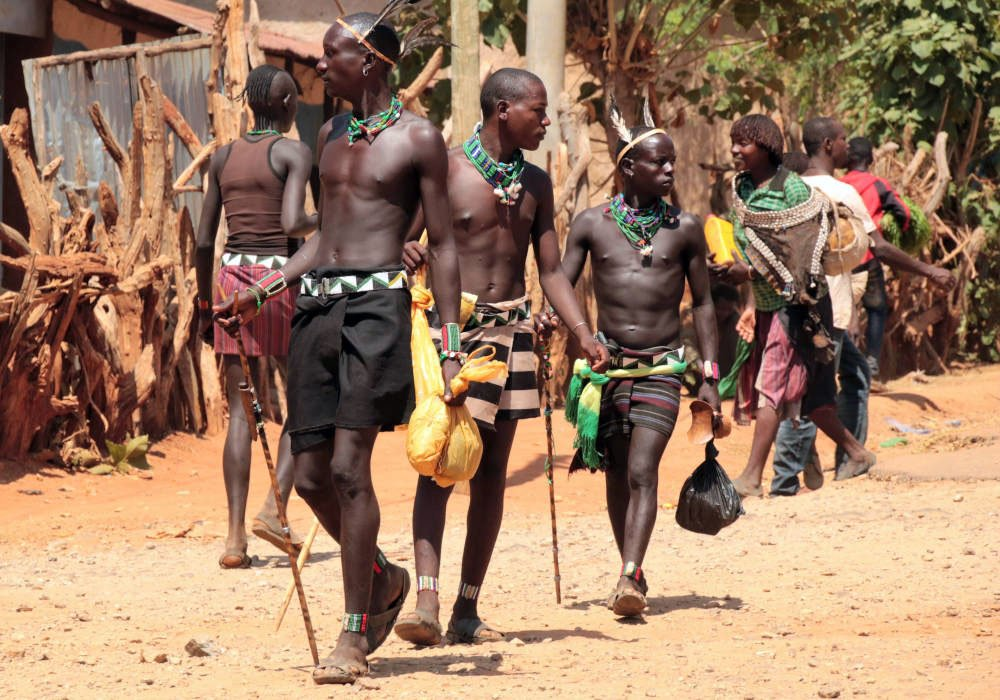 Stammen in Ethiopië, Oost-Afrika
