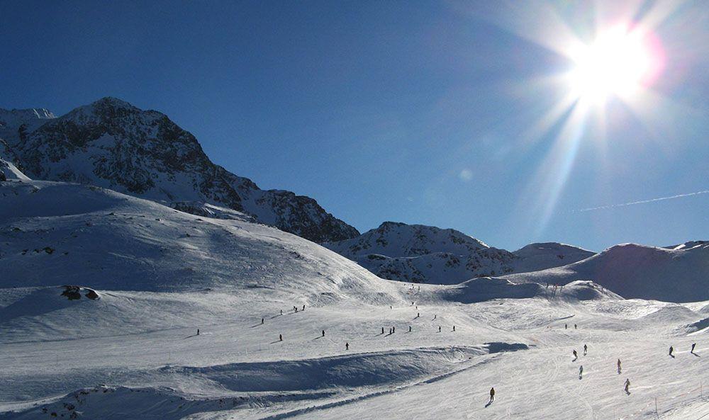 De skimogelijkheden in La Plagne zijn perfect.