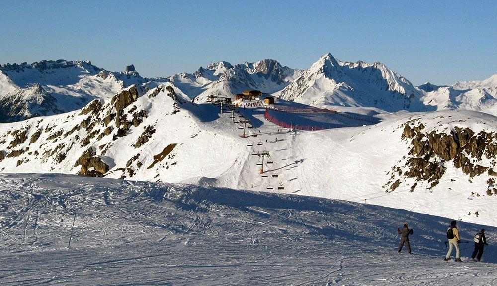 La Plagne is zeer sneeuwzeker.