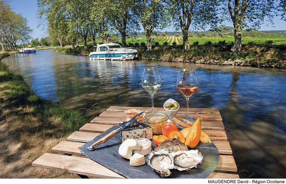 Een riviercruise in Frankrijk is heerlijk.