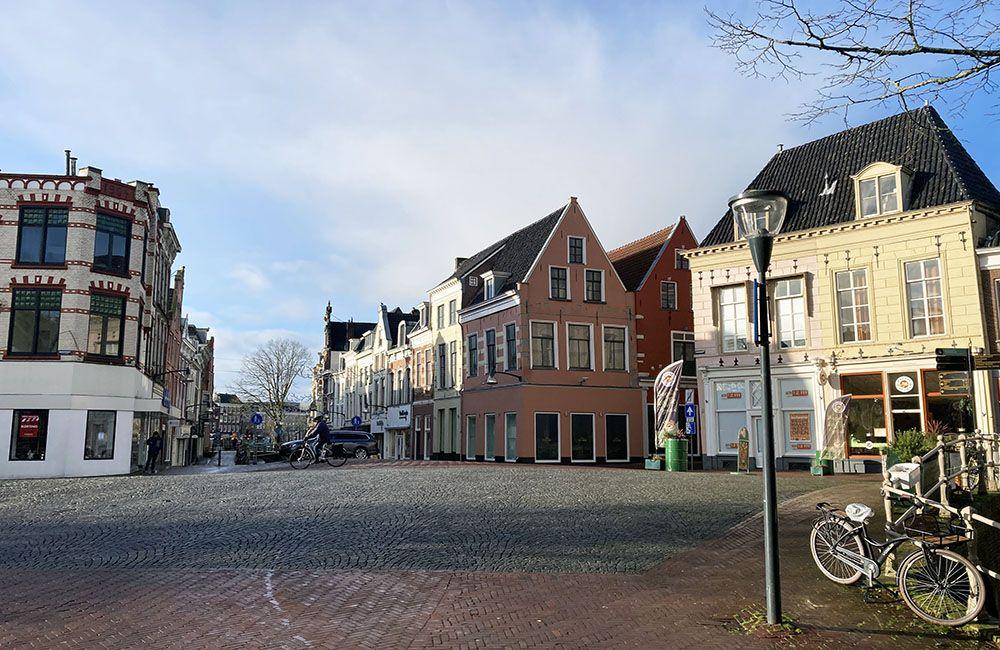 Zomaar een pleintje in Leeuwarden