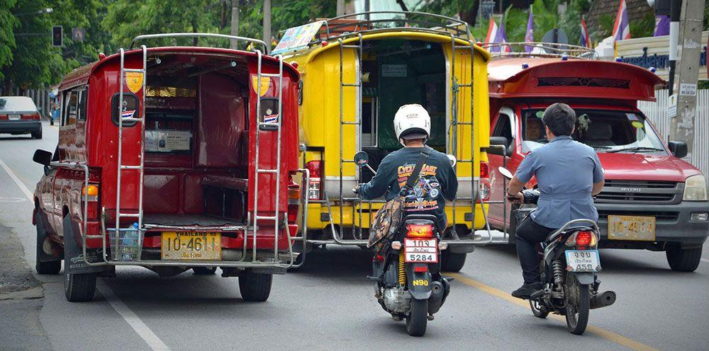 Vervoer in Khao Lak, Thailand
