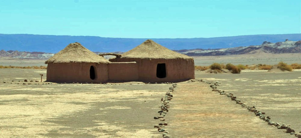 Aldea de Tulor is een oude nederzetting in de buurt van San Pedro de Atacama.
