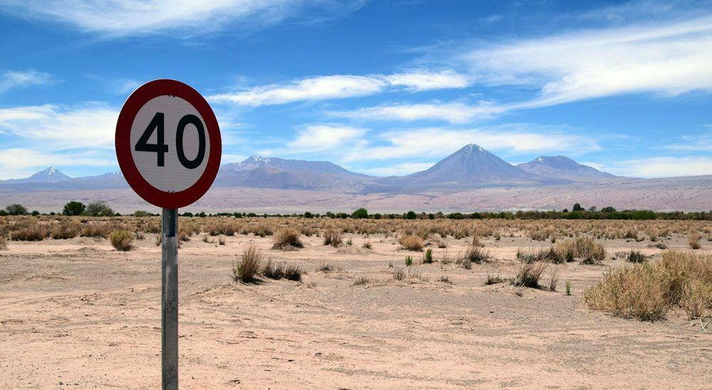 Rondom San Pedro de Atacama zijn veel vulkanen.