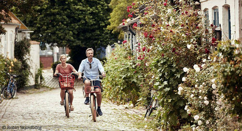 fietsen door Denemarken