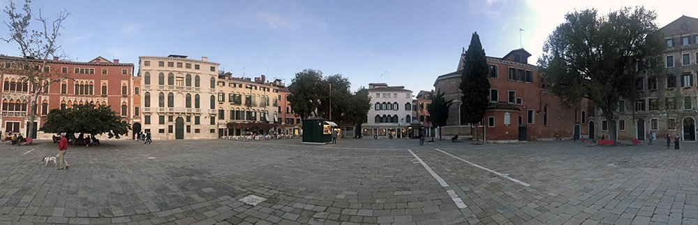 Campo San Polo in Venetië