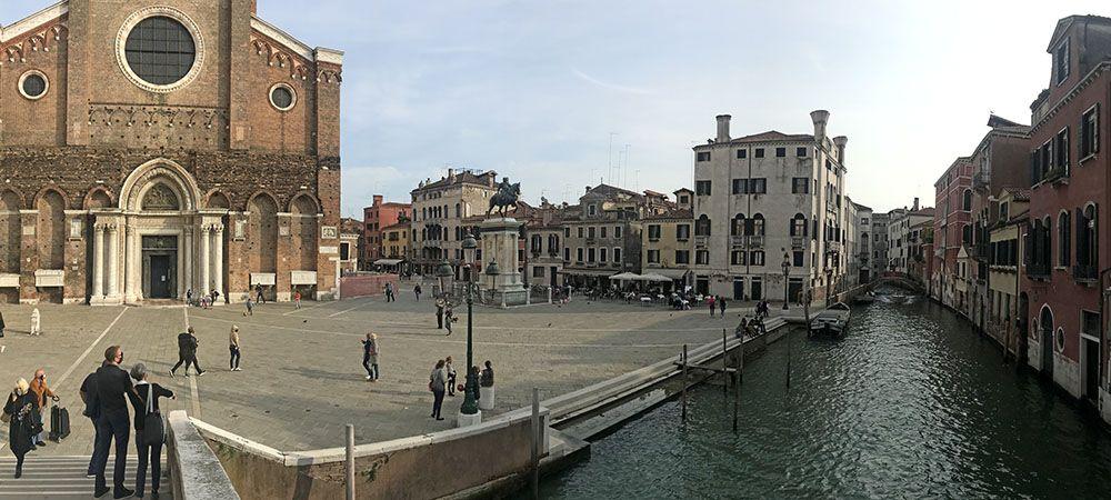 Pleintje in Venetië