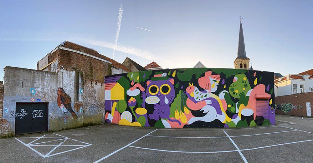 Streetart in Breda
