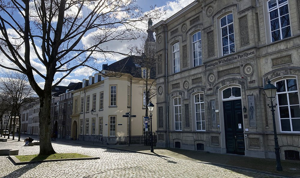 Kasteelplein in Breda