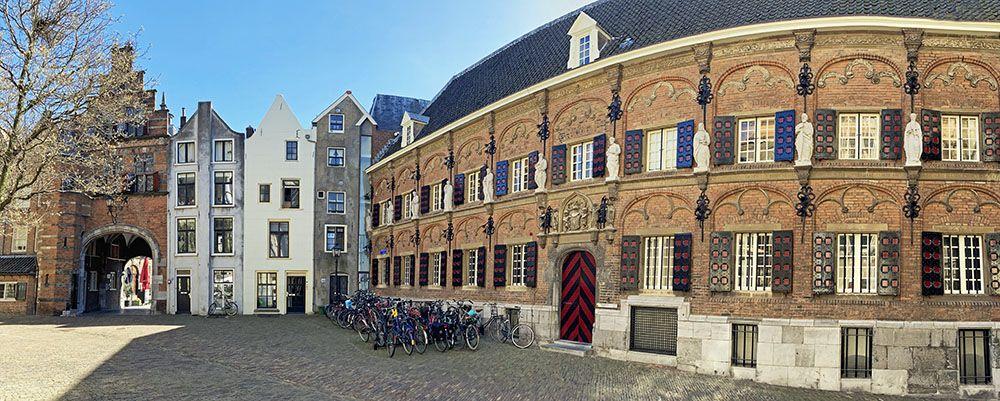 Sint-Stevenskerkhof in Nijmegen