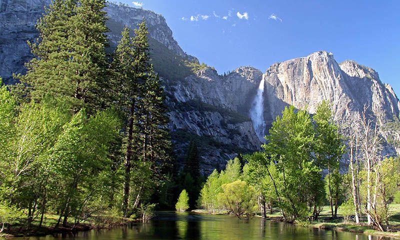 Yosemite National Park in Californië, VS