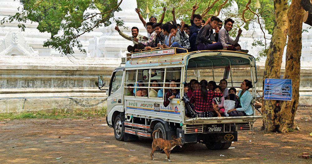Langzamer reizen met meer per bus