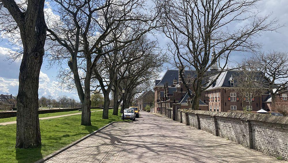 Oranjestad Buren. Een perfecte combinatiewandeling door een bijzonder pittoresk stadje en langs ontluikende bloesem in de omgeving!