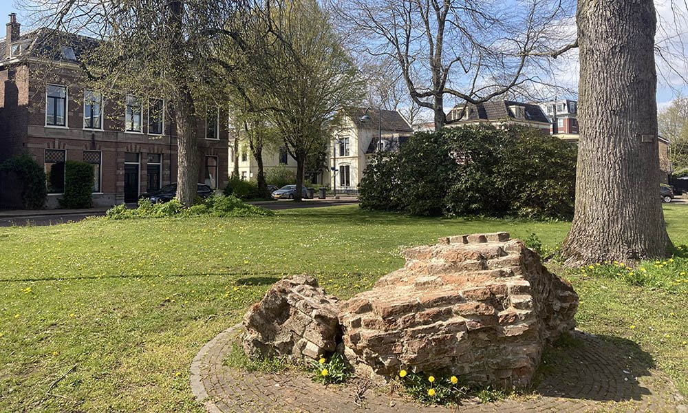 Herehnhuizen in het oude deel van Wageningen