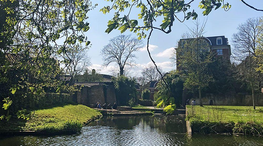 Oude stad van Wageningen