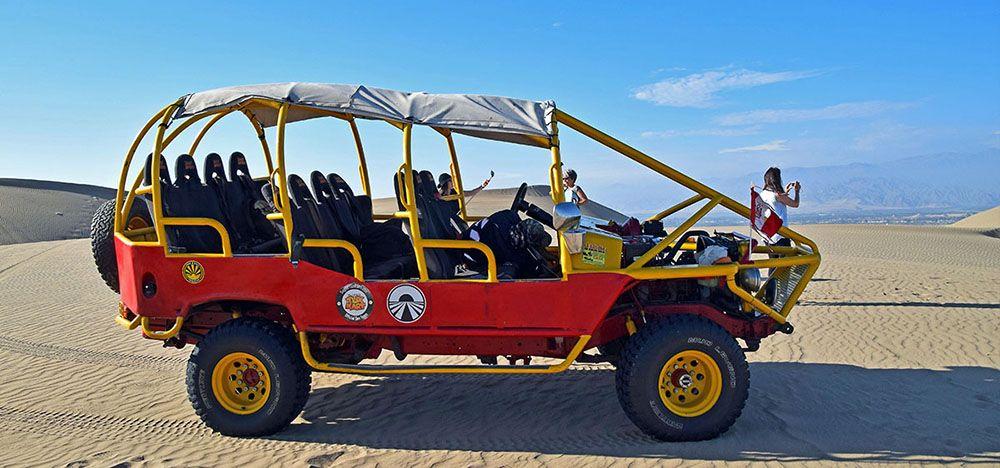 Een buggytour door de zandduinen bij Huacachina
