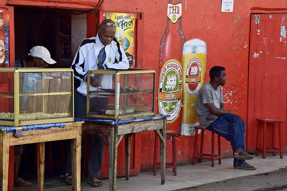 Kroeg in Madagaskar